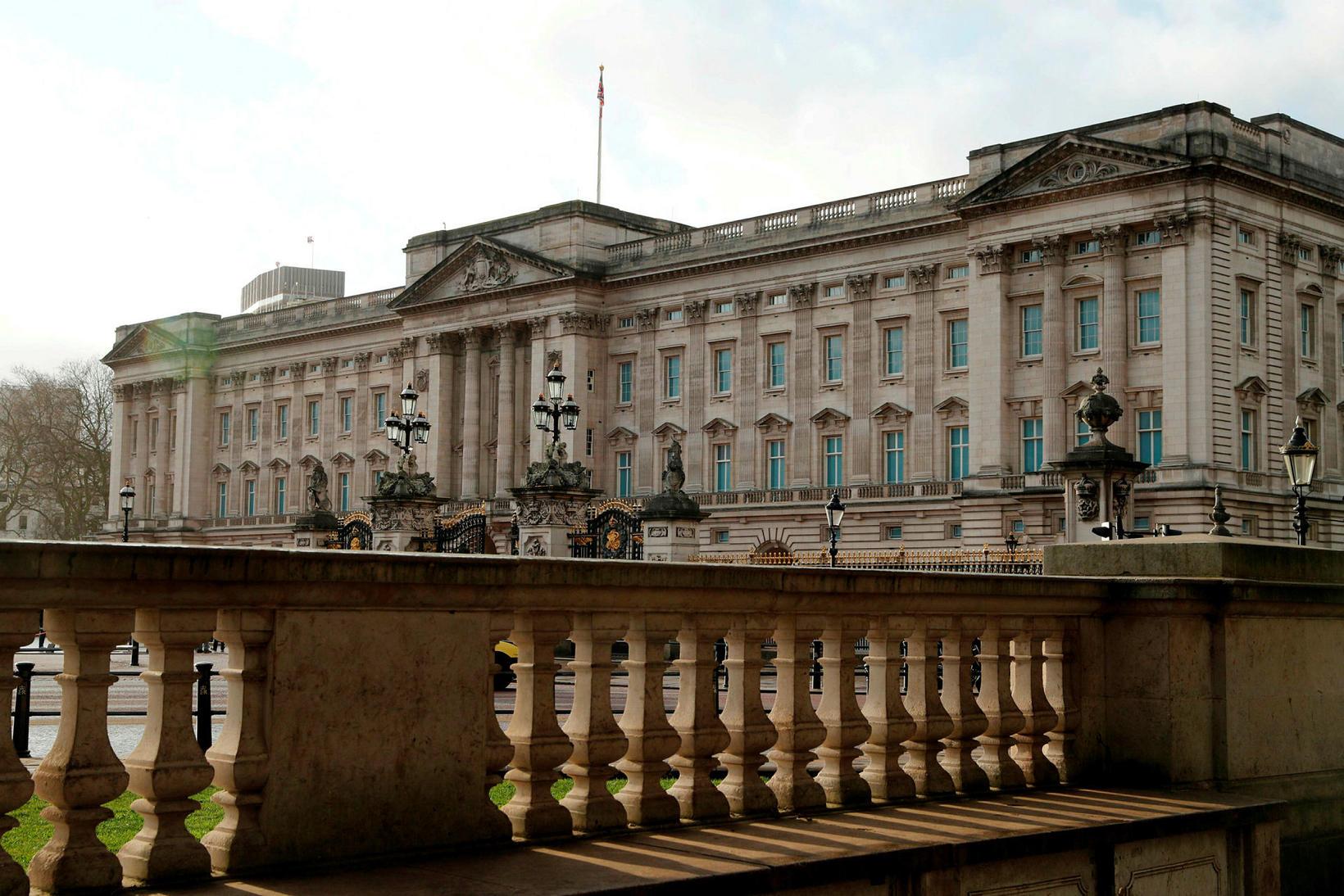Buckingham-höll í London.