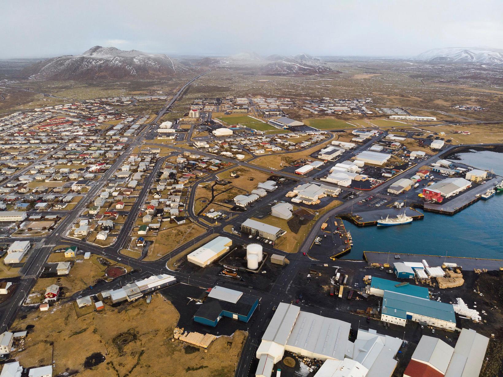 Grindavík, Southwest Iceland.