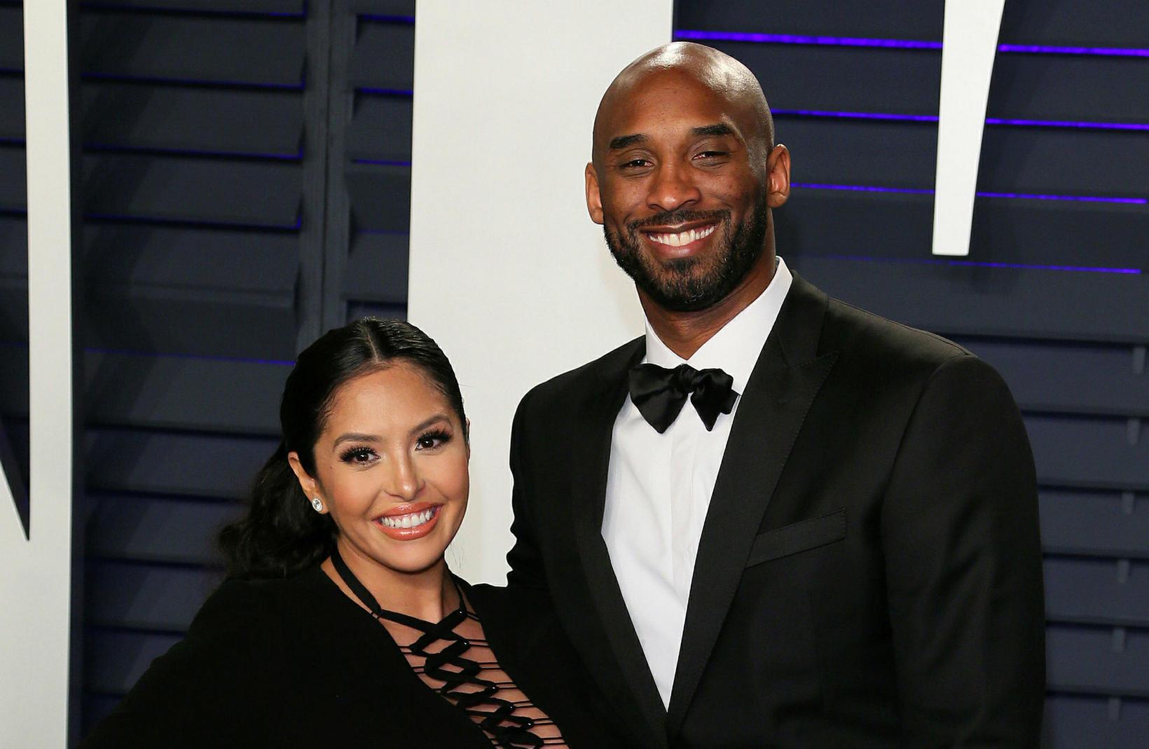Vanessa Bryant og Kobe Bryant.