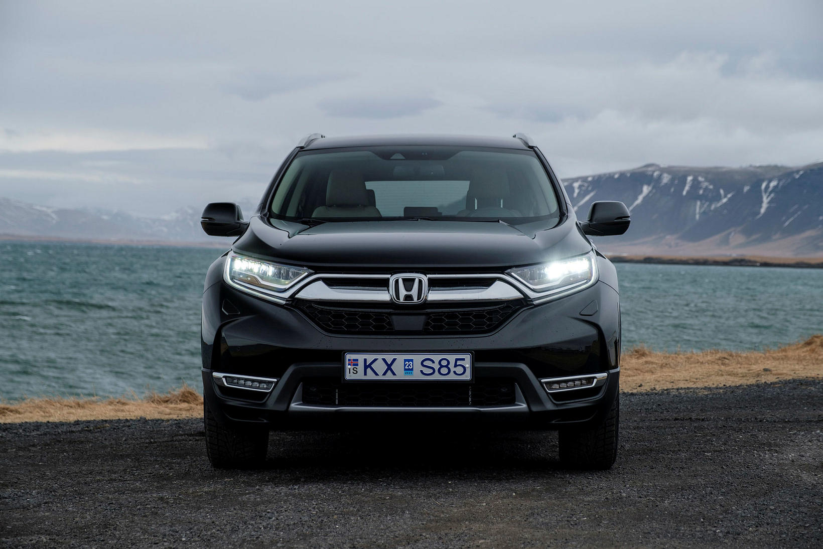 Honda CRV tvinnbíllinn.