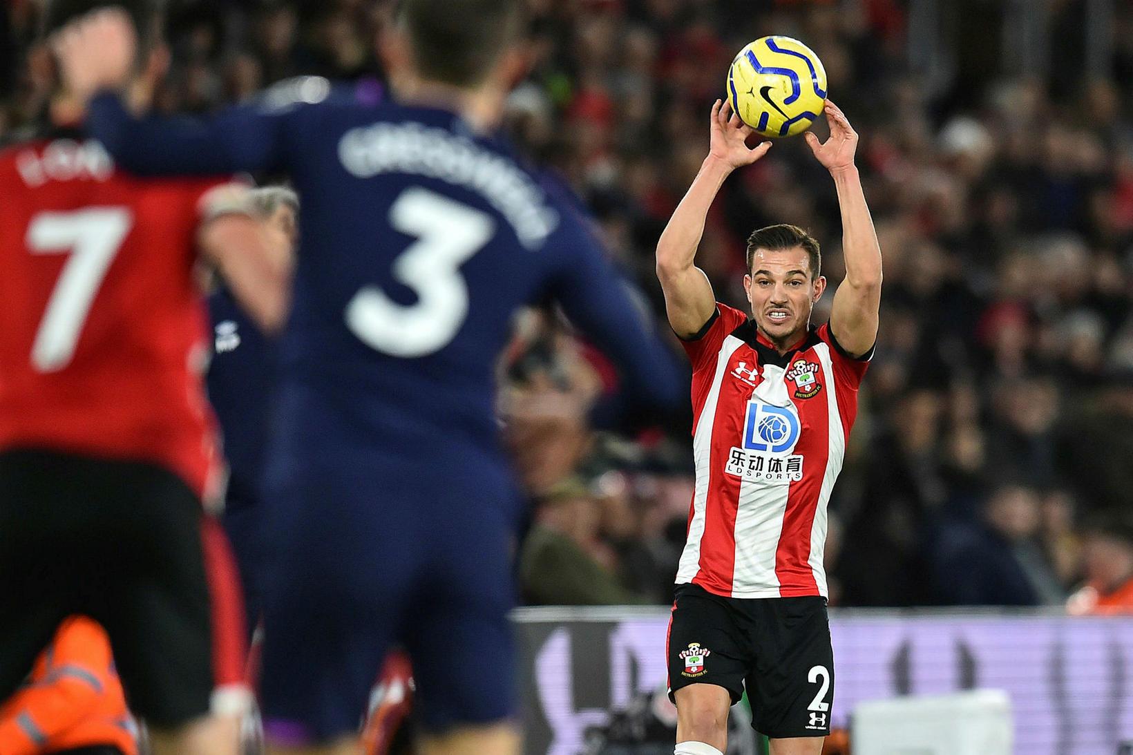 Bakvörðurinn Cédric Soares er kominn til Arsenal sem lánsmaður frá …