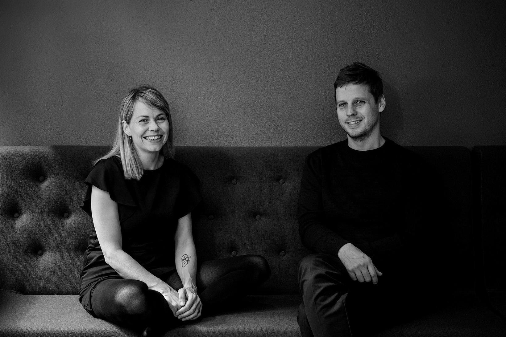 Aldís Gísladóttir og Casper Berntsen reka Studio Heima sem er …