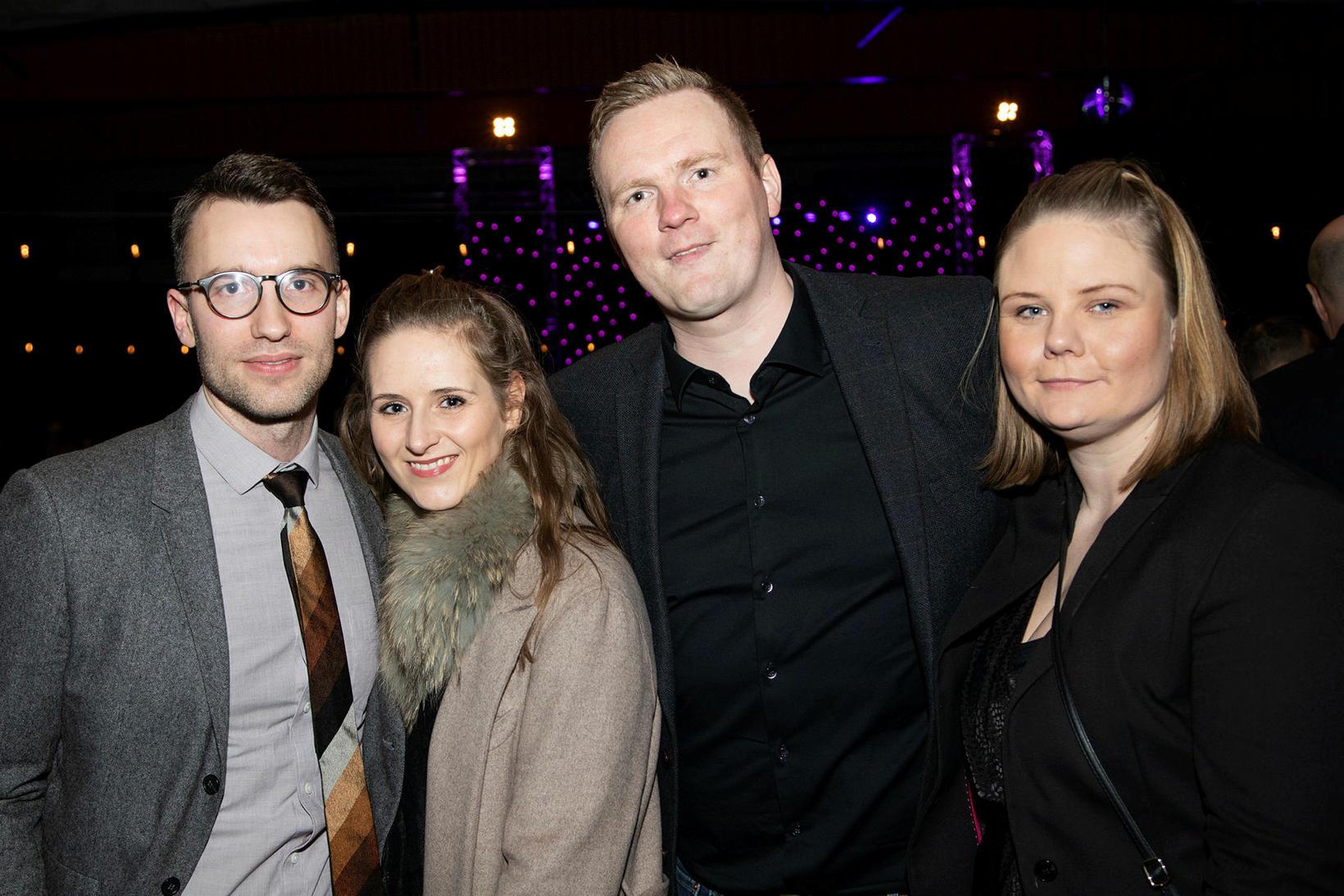 Birgir Gunnarsson, Ragna Sveinsdóttir, Ragnar Vignir og Sigrún Brynjólfsdóttir.