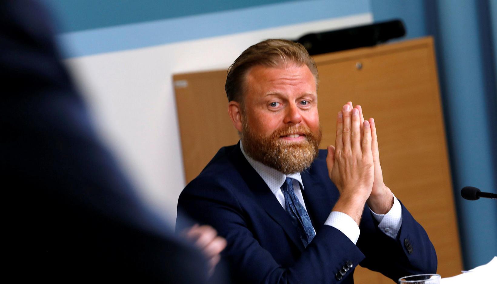Ásgeir Jónsson seðlabankastjóri er mikill bókasafnari.