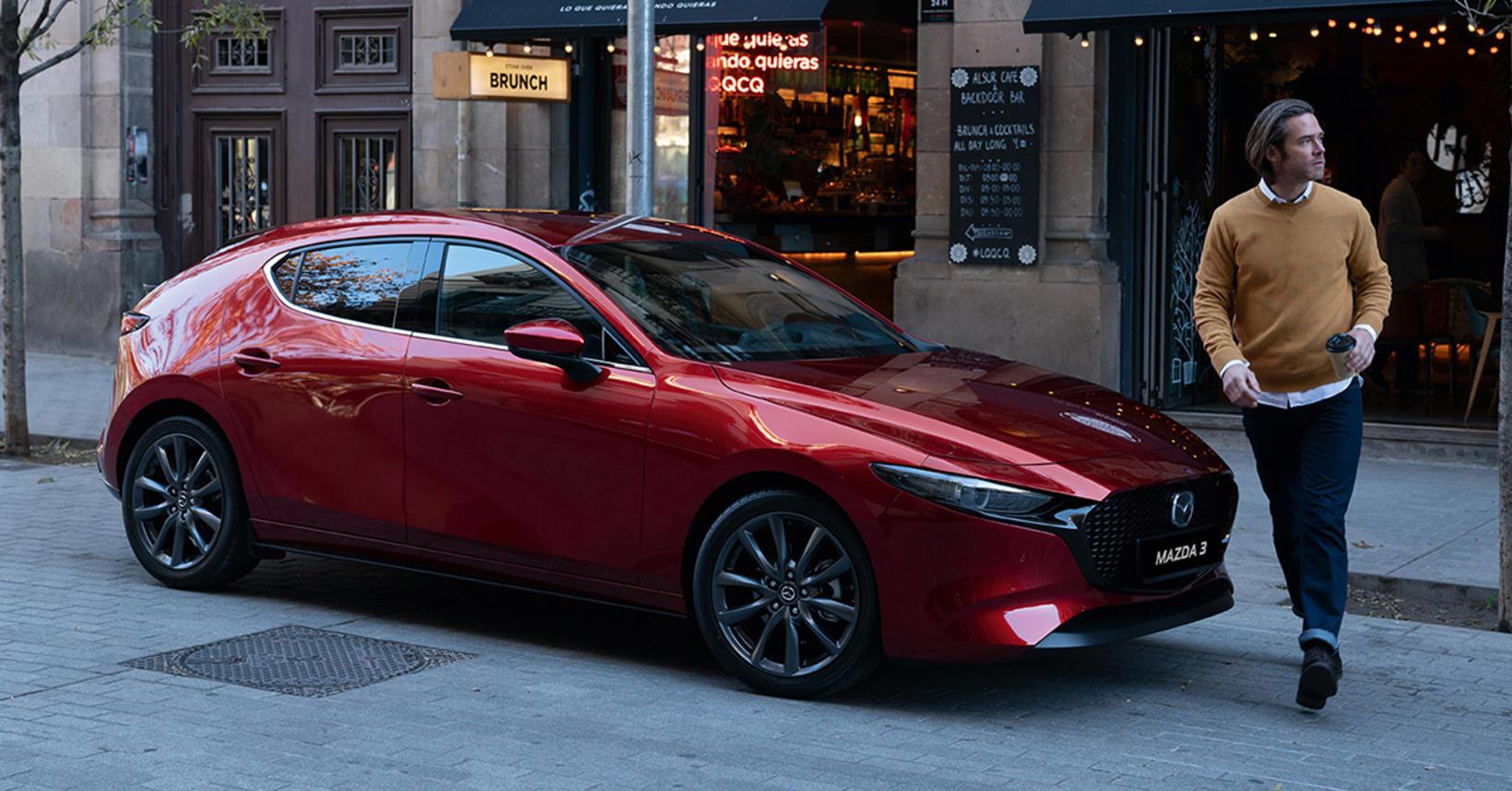 Mazda3 hlaðbakur.