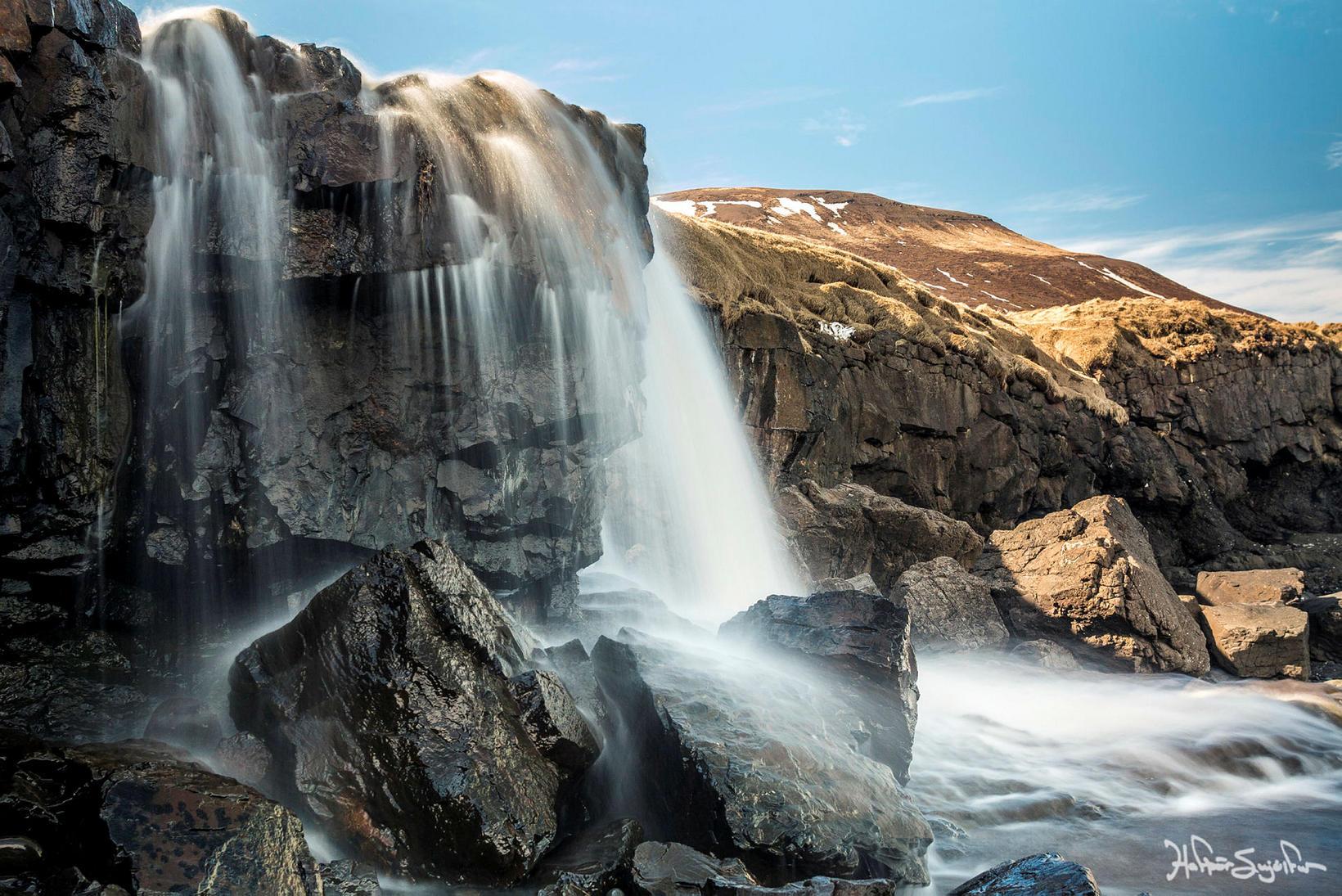 Íslensk náttúra í allri sinni fegurð.