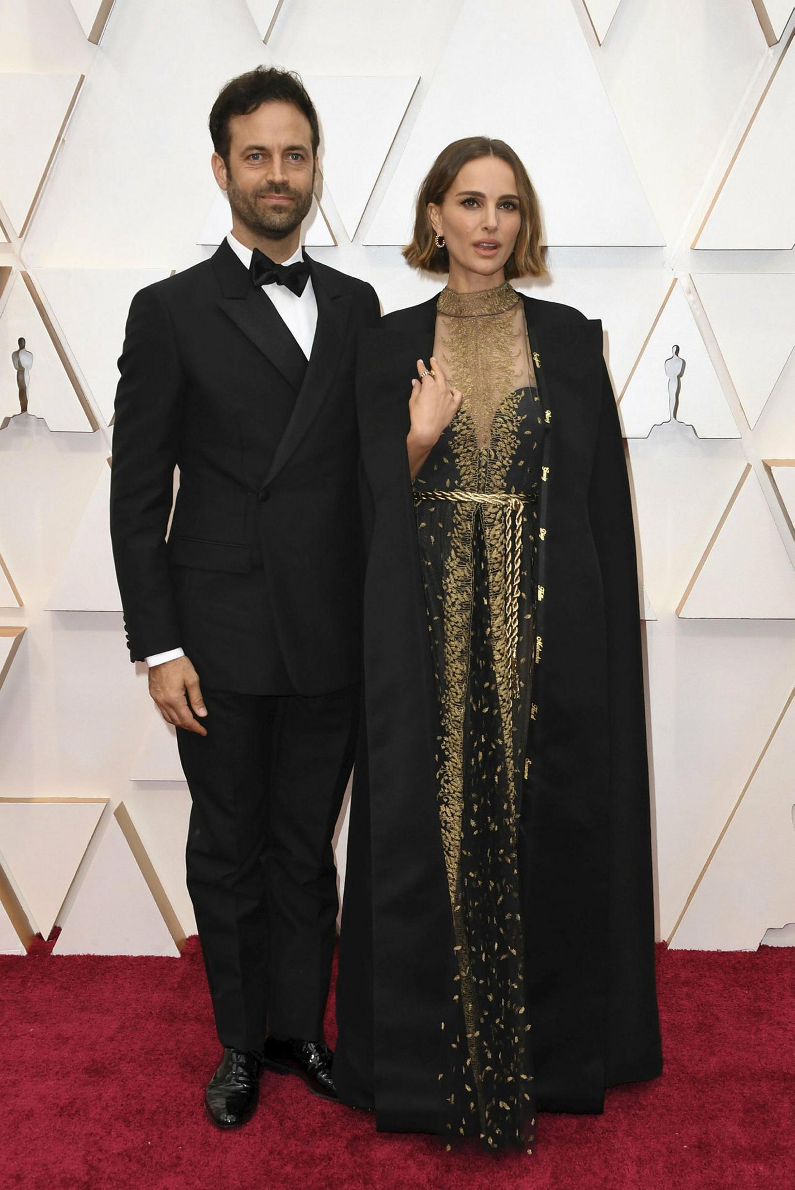 Benjamin Millepied og Natalie Portman.
