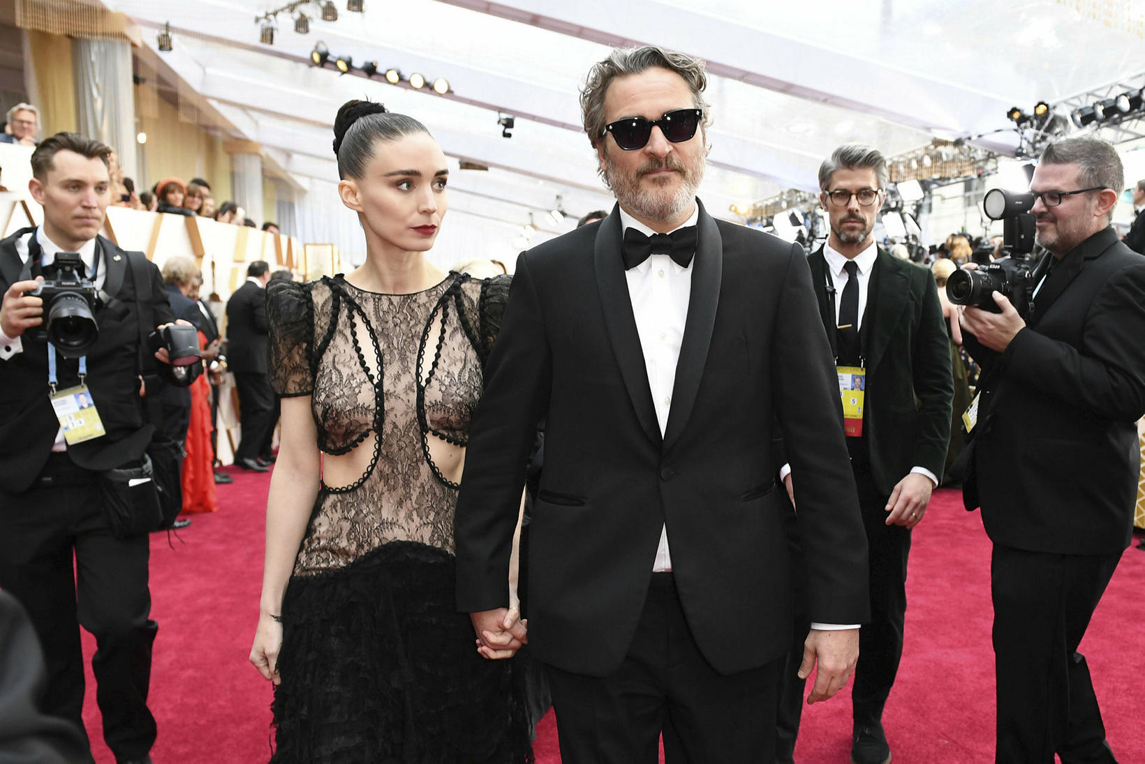 Joaquin Phoenix og Rooney Mara.