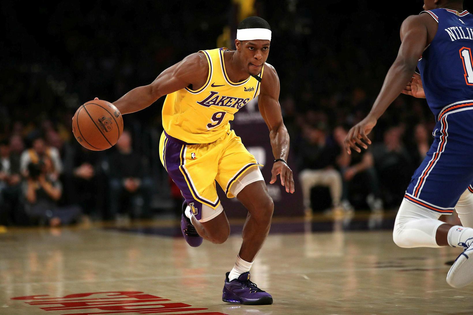 Rajon Rondo hefur orðið meistari með bæði Boston og Lakers …