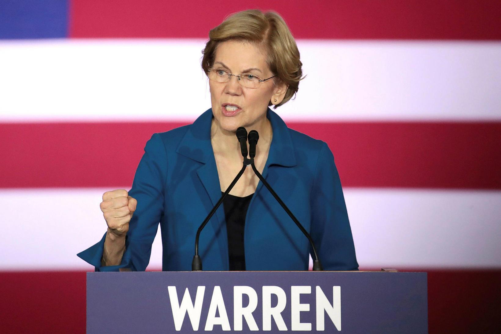 Við sigrum saman, sagði Warren.