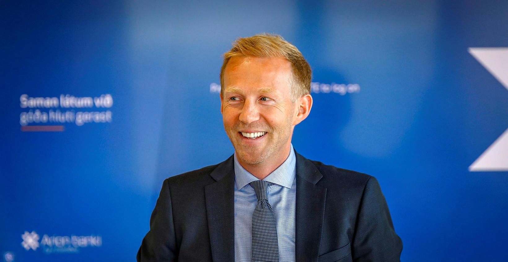 Benedikt Gíslason, bankastjóri Arion.