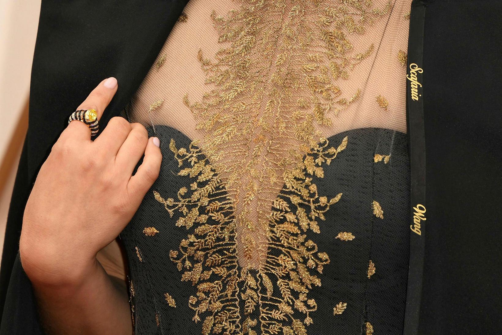 Natalie Portman klæddist kjól með ísaumuðum nöfnum kvenkyns leikstjóra á …