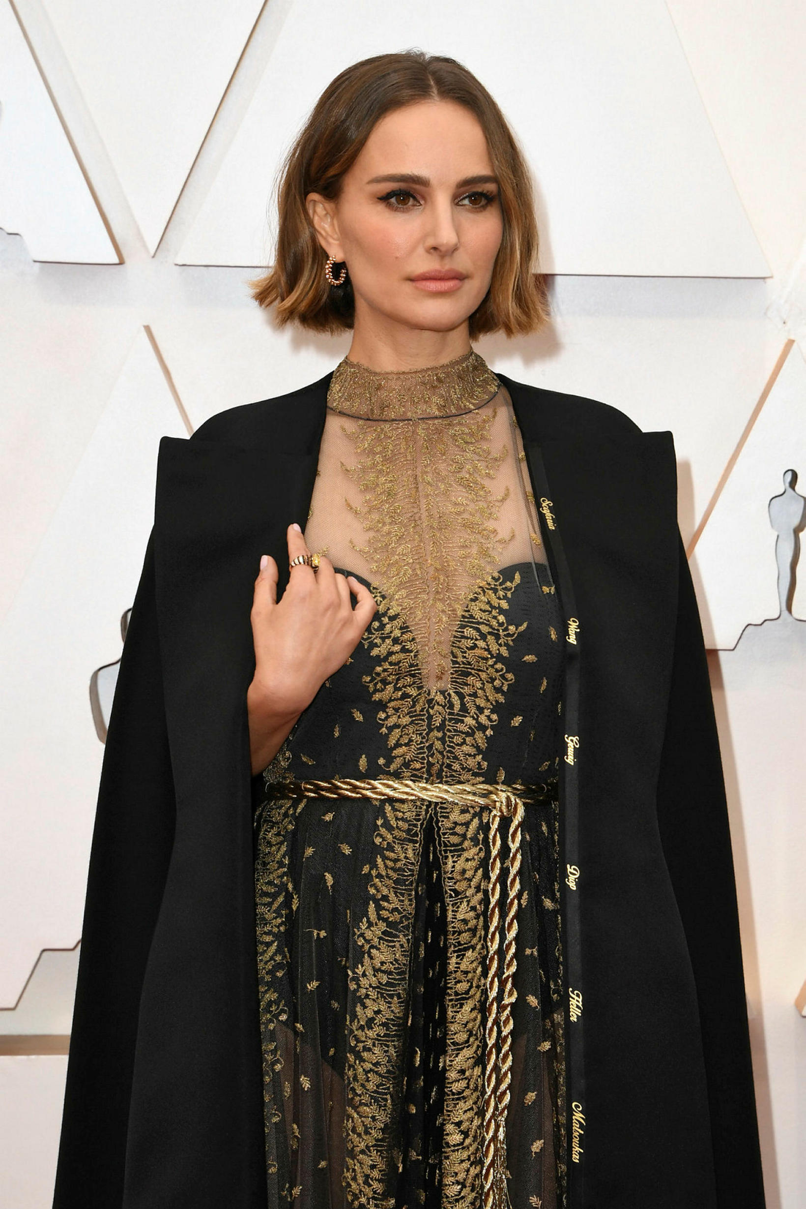 Natalie Portman í fötunum umdeildu á Óskarnum.