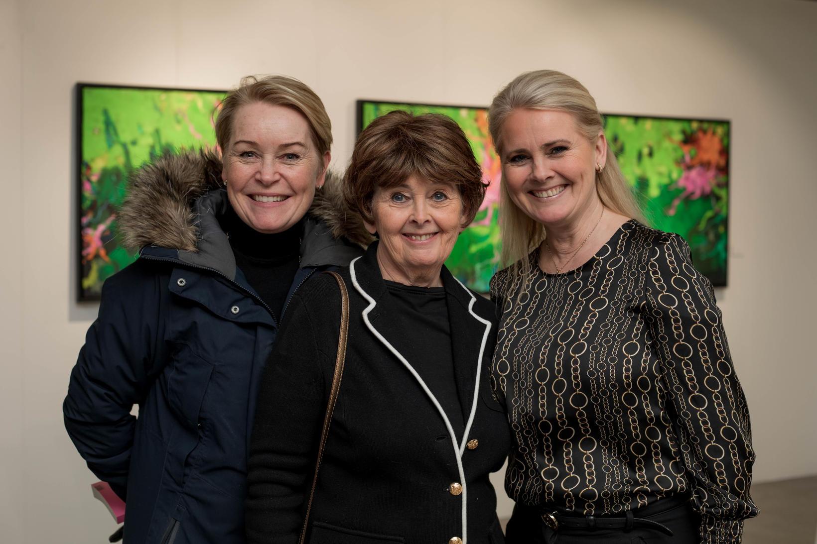 Hrund Steindórsdóttir, Matthildur Arnalds og Laufey Johansen.
