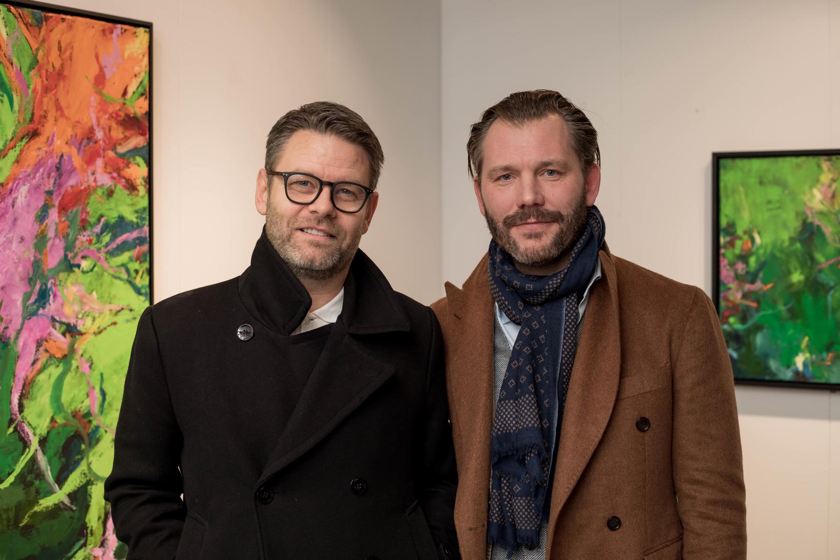 Ágúst Reynir Þorsteinsson og Grímur Garðarsson.