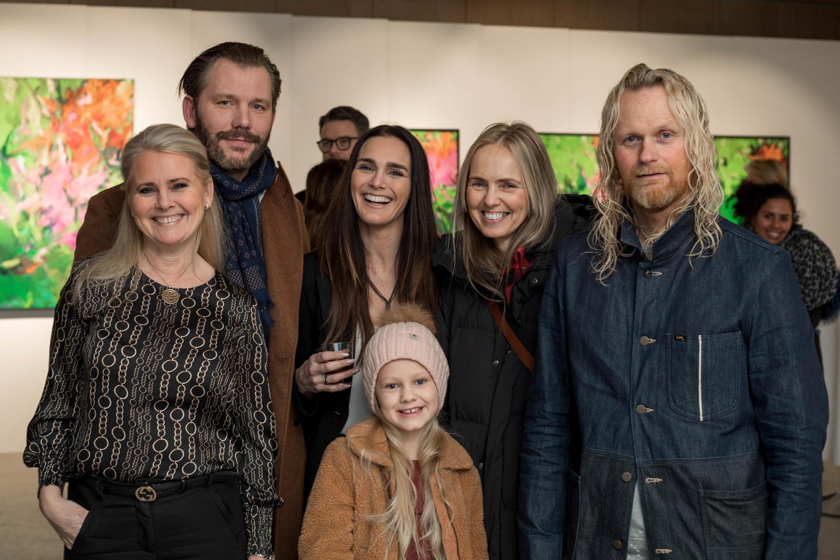 Laufey Johansen, Grímur Garðarsson, Anna Lilja Johansen, Isabet Mia Gunnarsdóttir, …