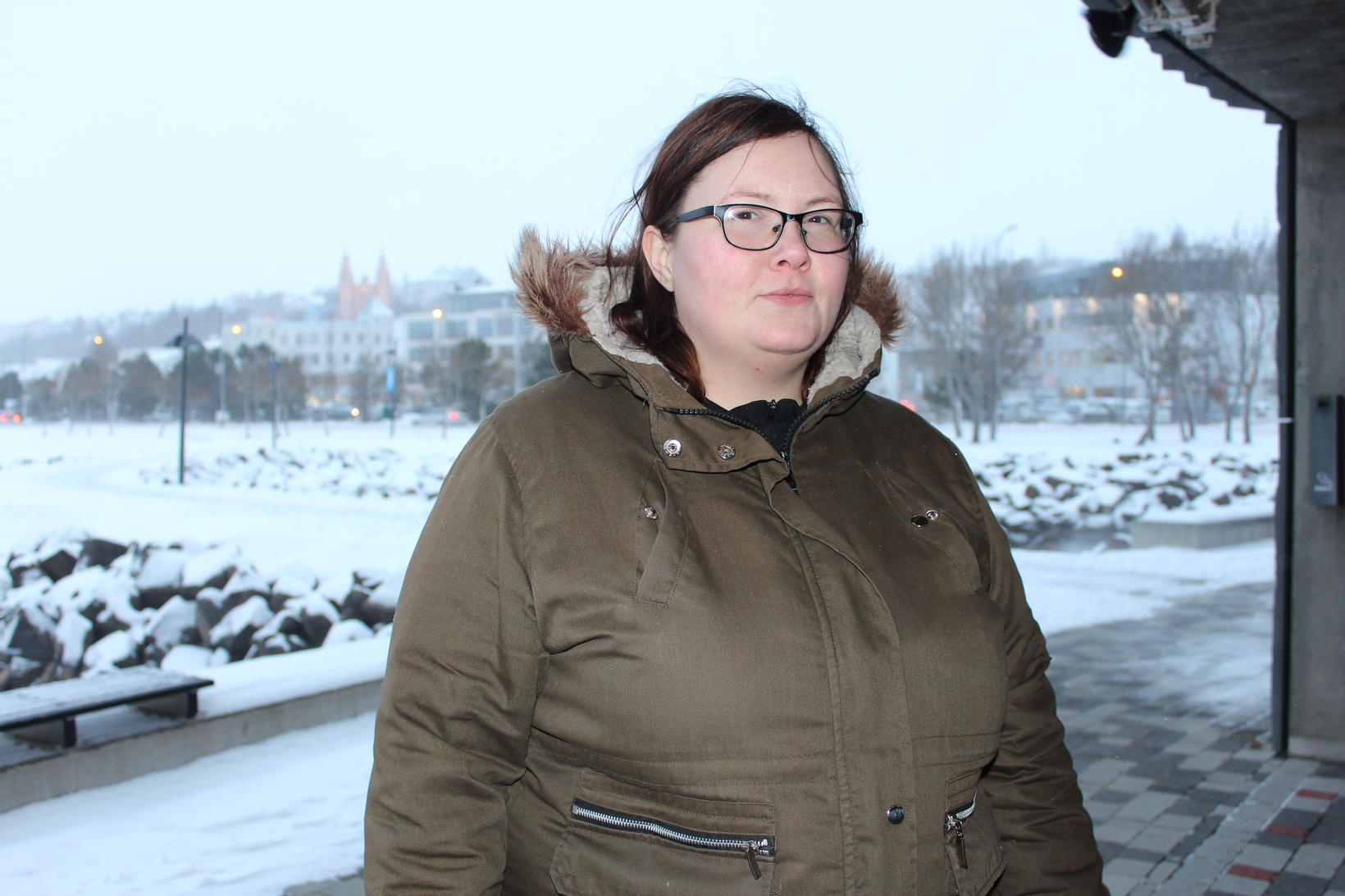 Hólmfríður Helga leggur áherslu á að vinna í andlega þættinum.