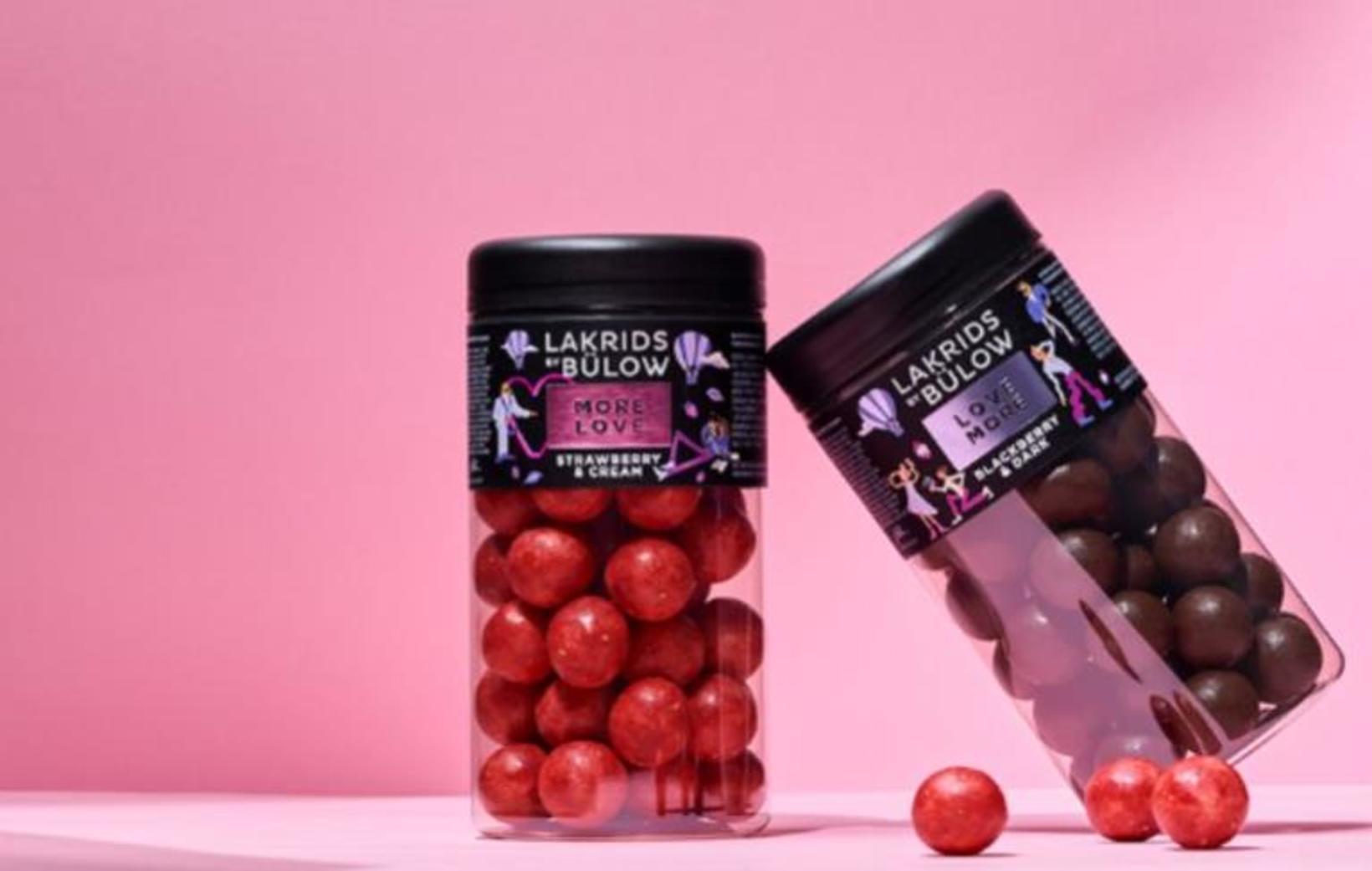 Strawberry and Cream lakkrísinn frá Johan Bülow er fullkominn með …