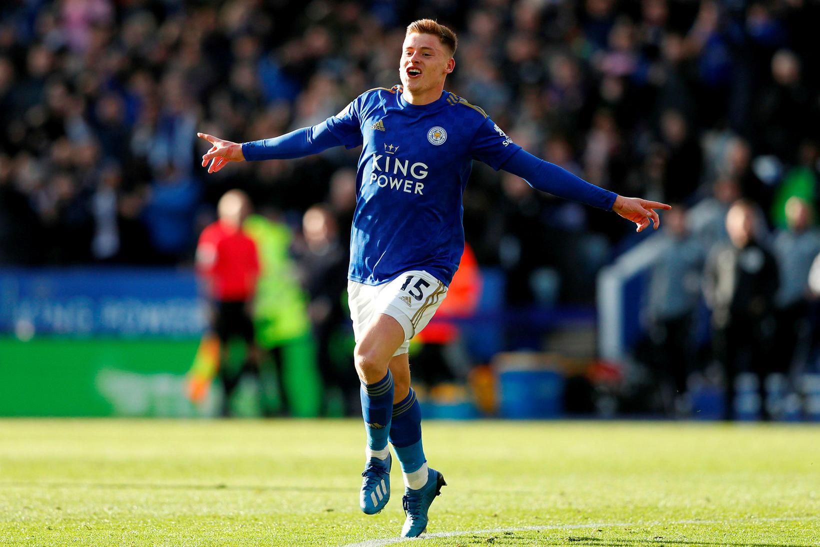 Harvey Barnes og félagar í Leicester City eiga sæti í …