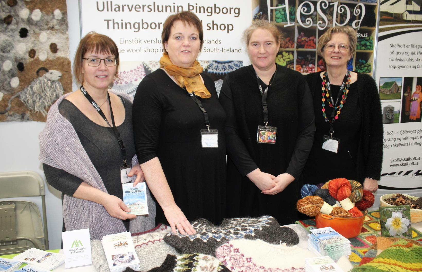 The women behind the Woollen Circle: Hulda Brynjólfsdóttir, from Uppspuni, …