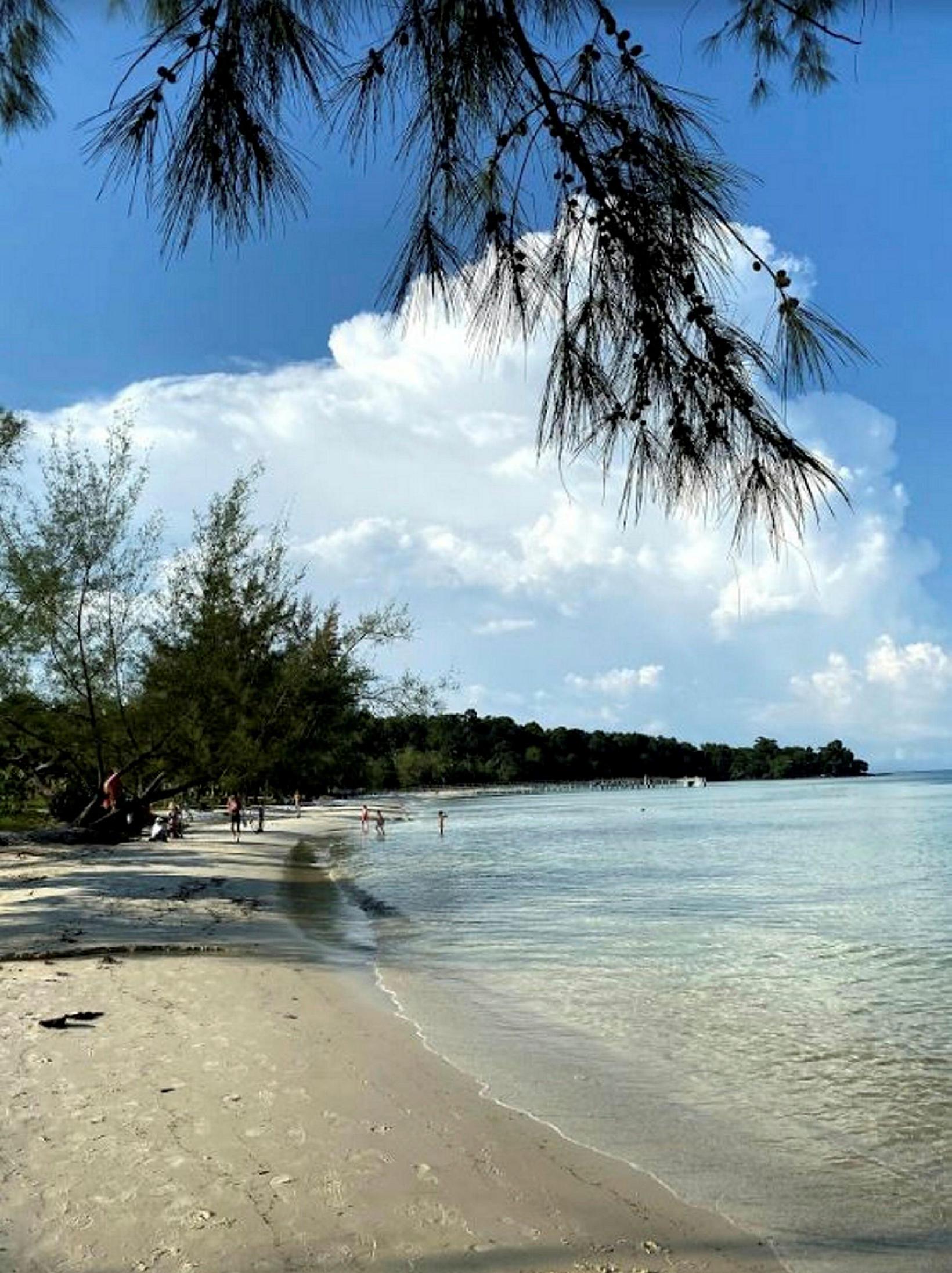 Koh Rong í Kambódíu.