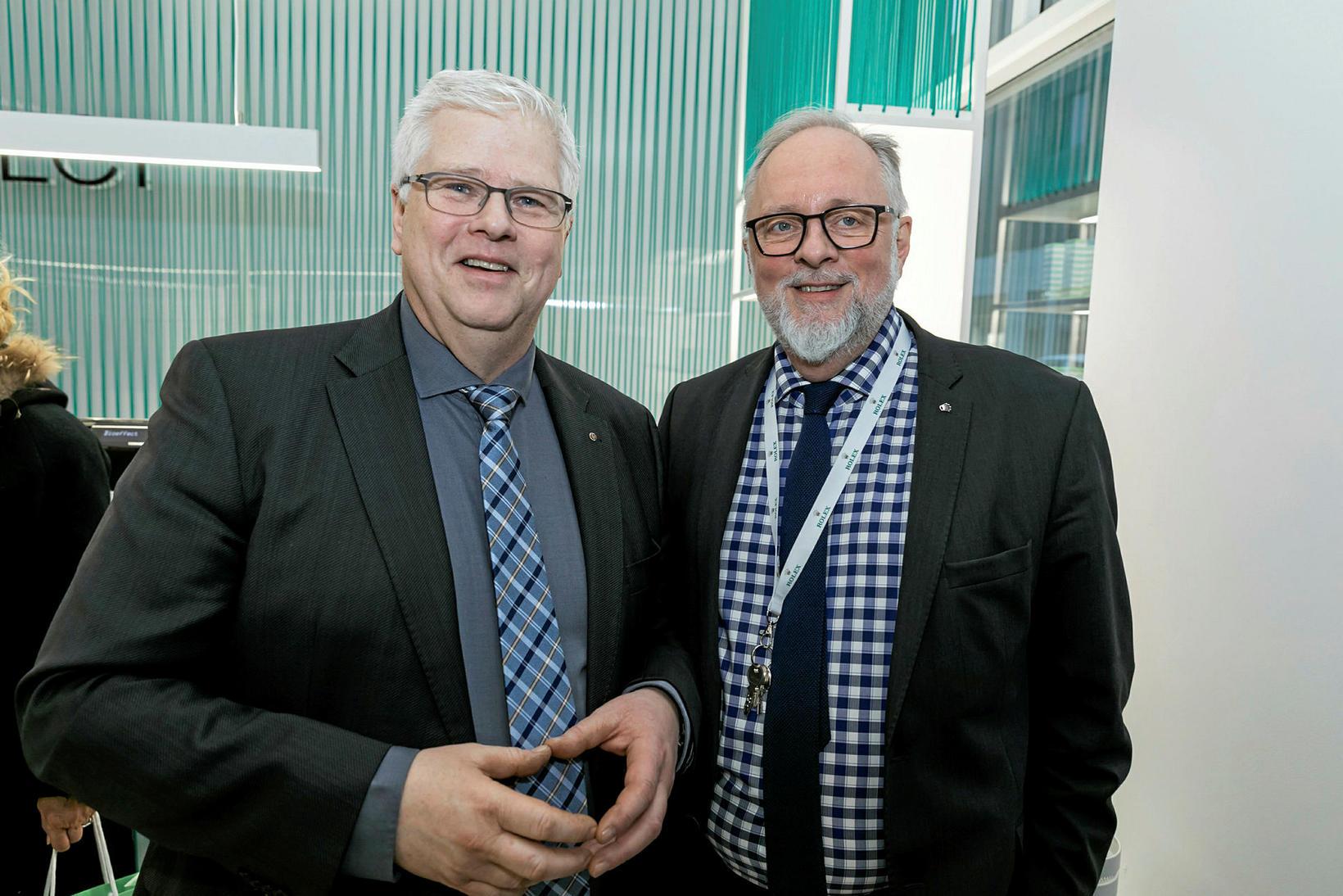 Erlendur Arnarson og Frank Michelsen.