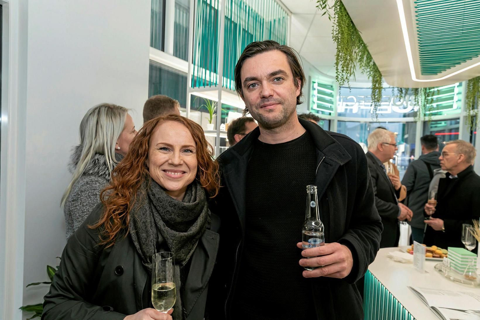 Rut Sigurmonsdóttir og Marcos Zotes.