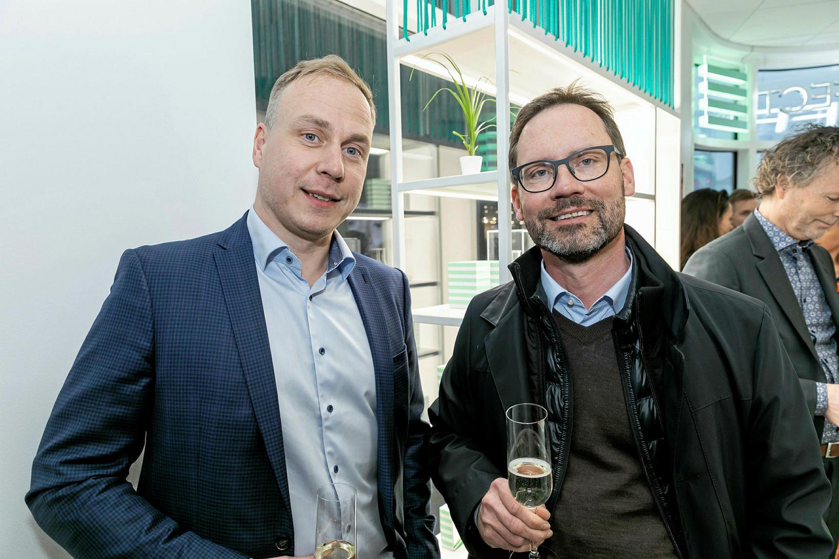 Guðbjarni Eggertsson og Sigtryggur Hilmarsson.
