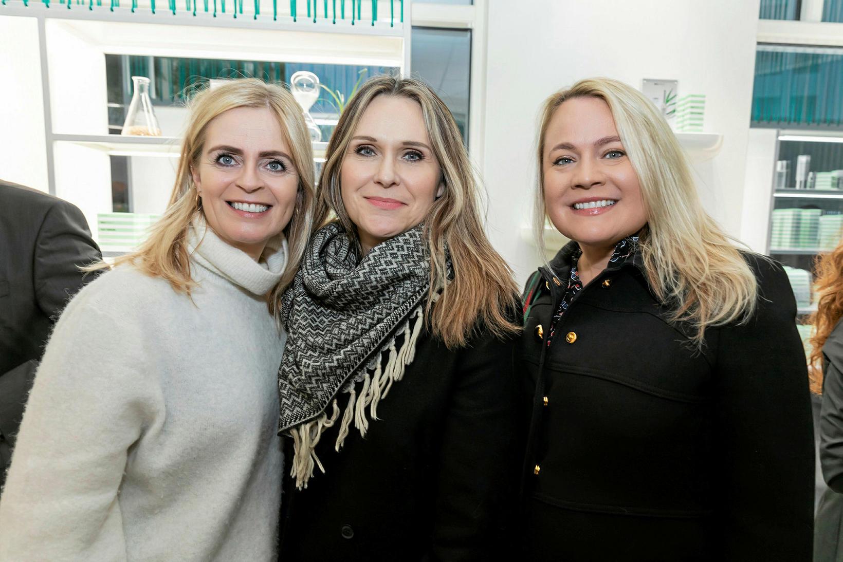 Elísabet Austmann, Hanna Ingibjörg Arnardóttir og Svanhvít Friðriksdóttir.