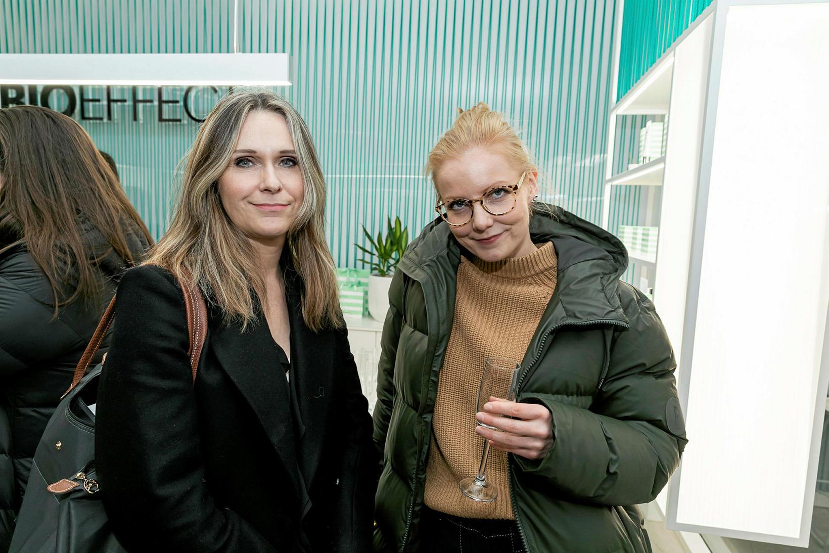 Hanna Ingibjörg Arnardóttir og Erna Hreinsdóttir.