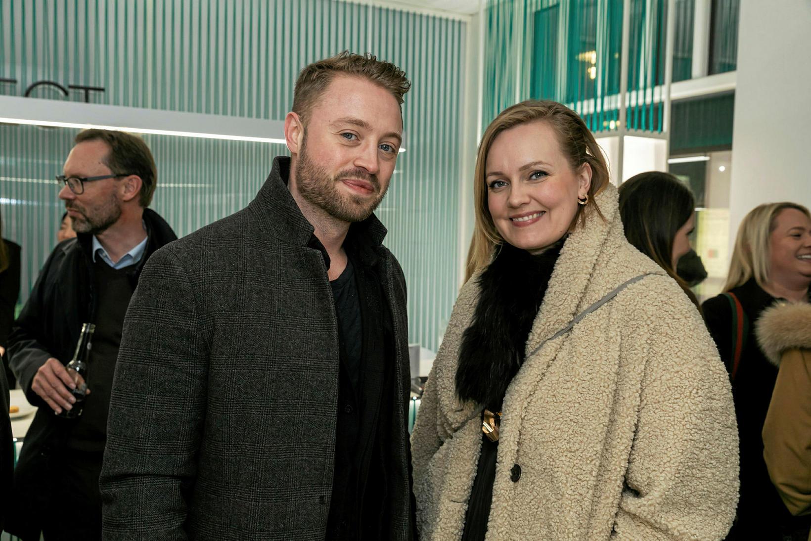 Ingimar Þórhallsson og Sóley Þórisdóttir.