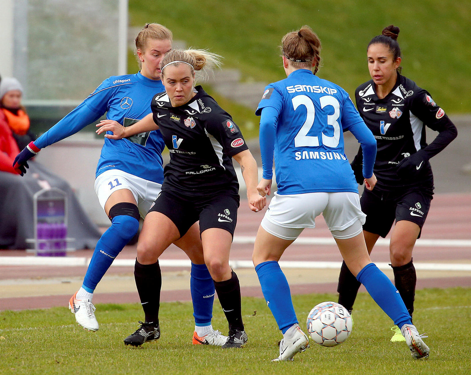 Lára Kristín Pedersen er komin til KR eftir eitt ár …