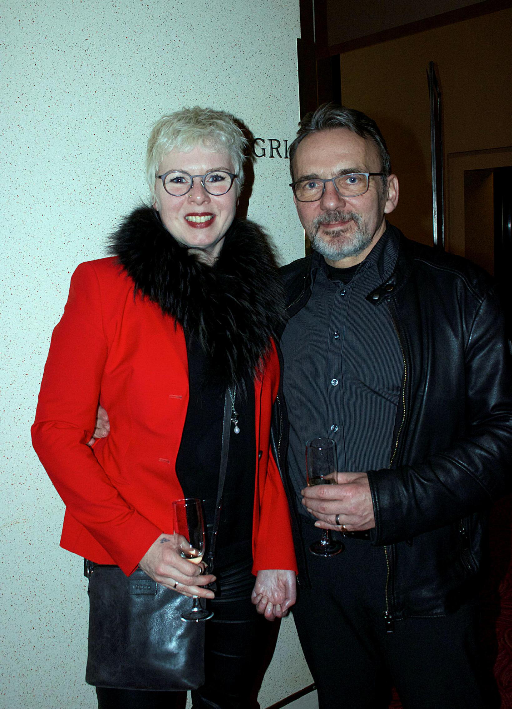 Harpa Cilia og Ivon Cilia.