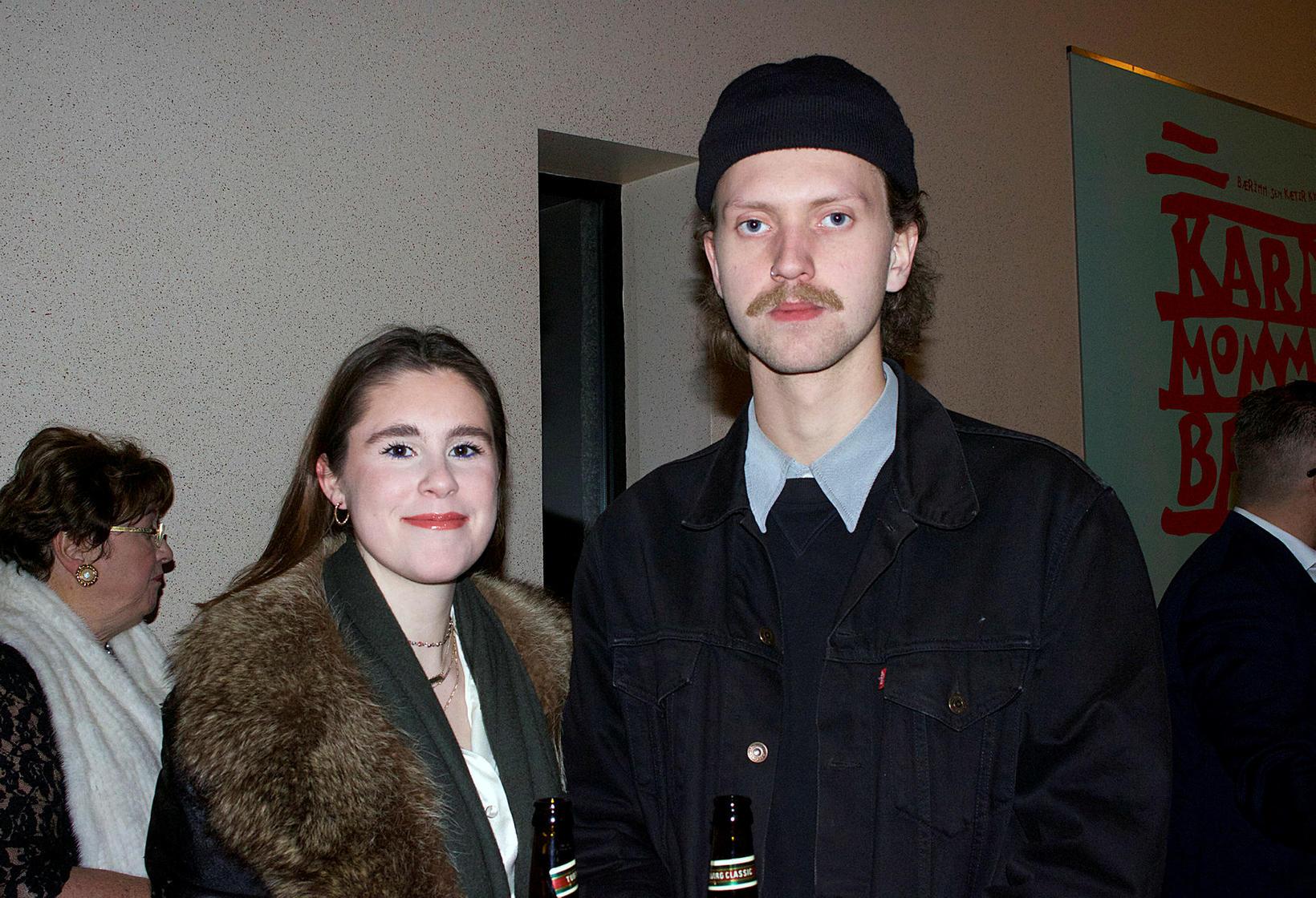 Nína Guðmundsdóttir og Kjartan Tindur Gunnarsson.