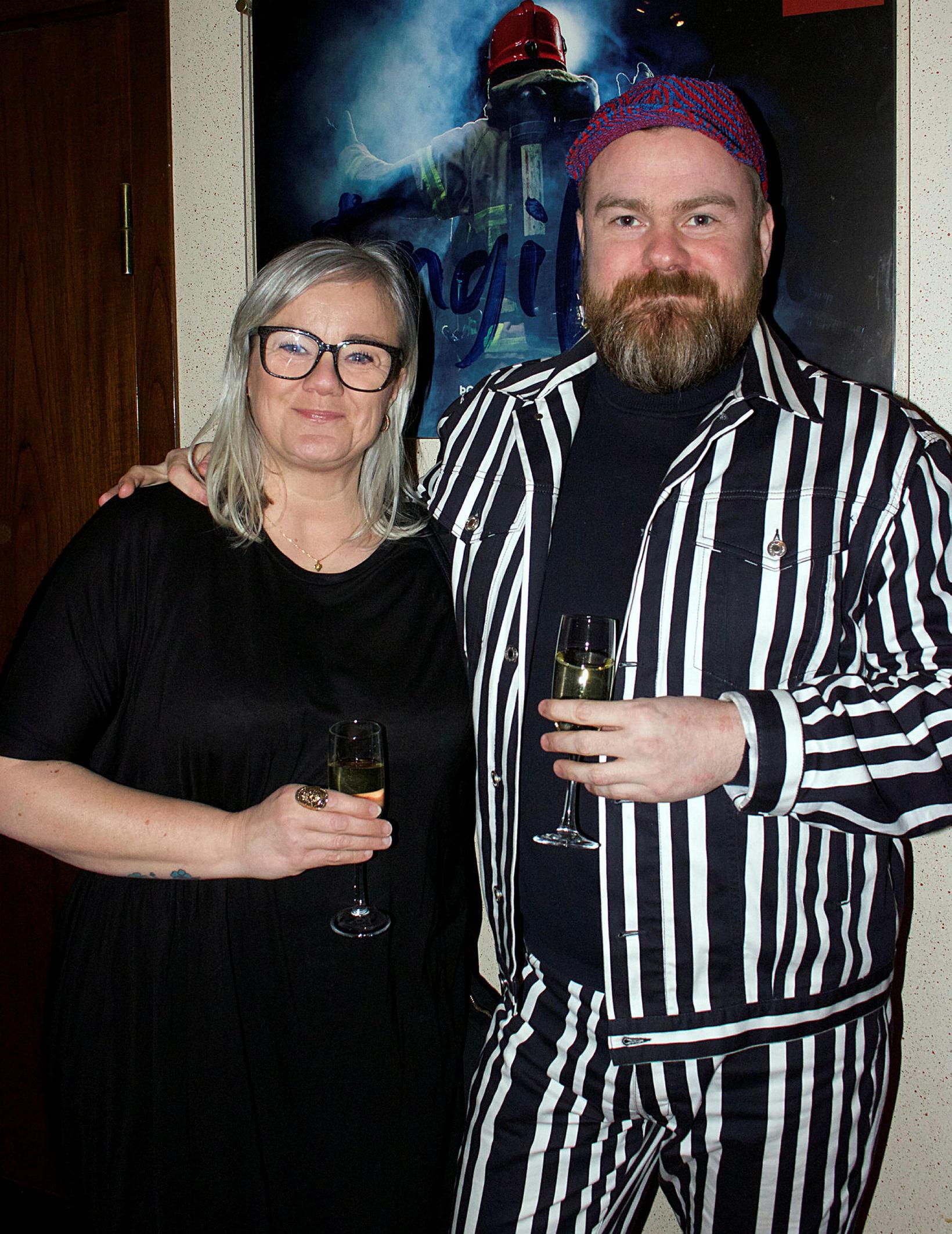Ragnheiður Hrafnsdóttir og Stefán Svan Stefánsson.