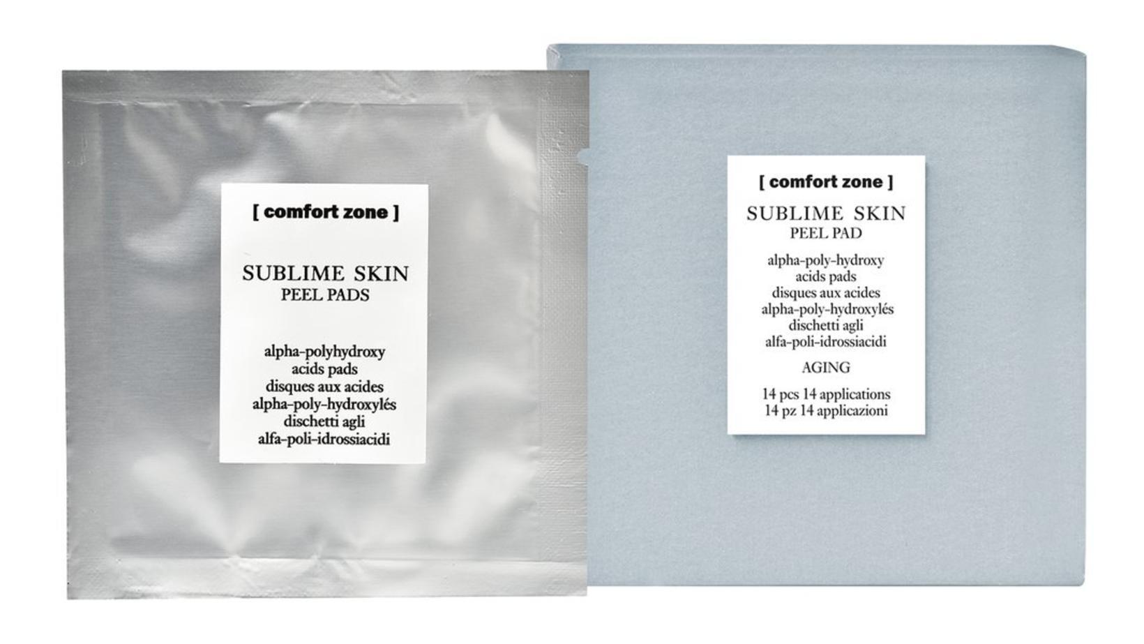 Comfort Zone Sublime Skin Peel Pads.