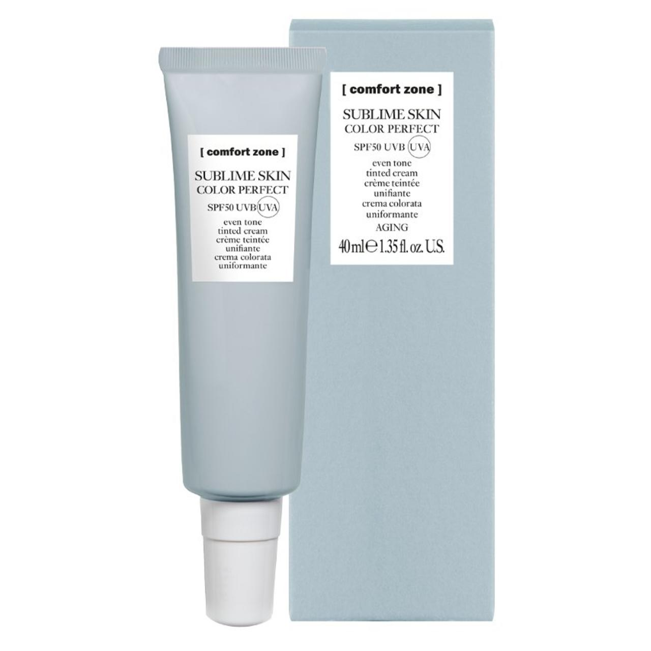 Comfort Zone Sublime Skin Color Perfect SPF 50.