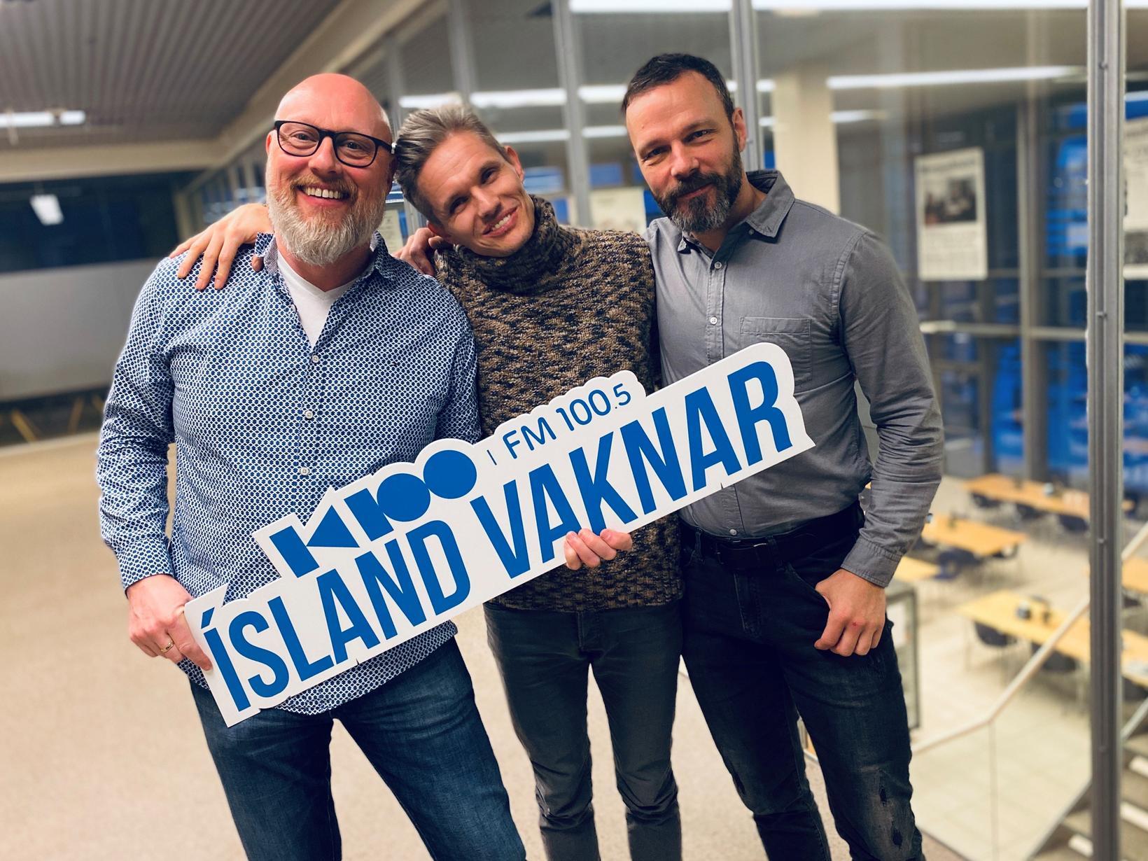 Björn Þórir Sigurðsson, Björgvin Franz Gíslason og Freyr Hákonarson voru …