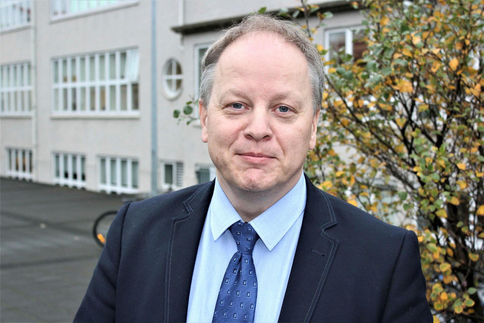 Stefán Eiríksson útvarpsstjóri.
