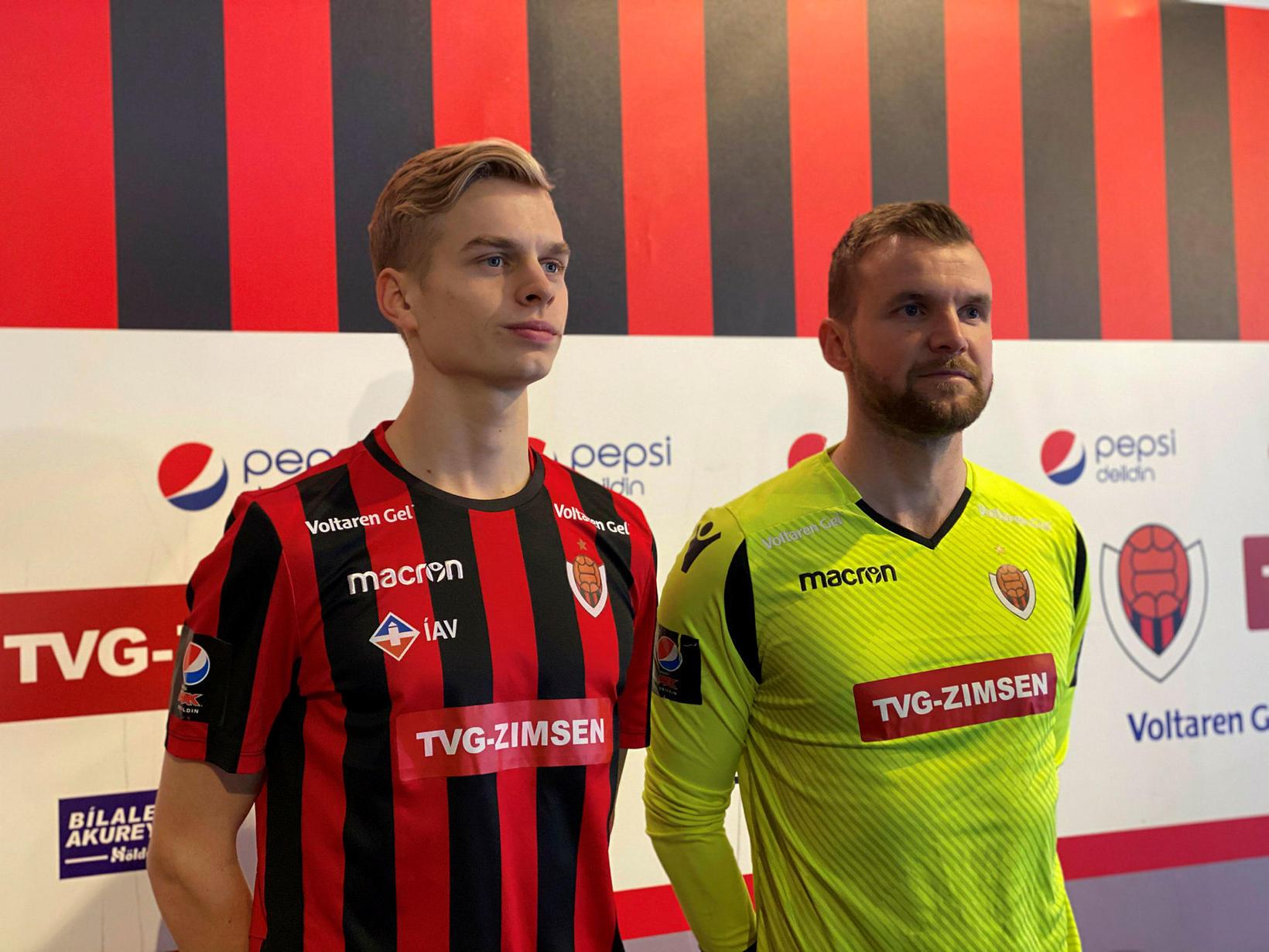 Atli Barkarson er kominn til Víkings frá Fredrikstad í Noregi …