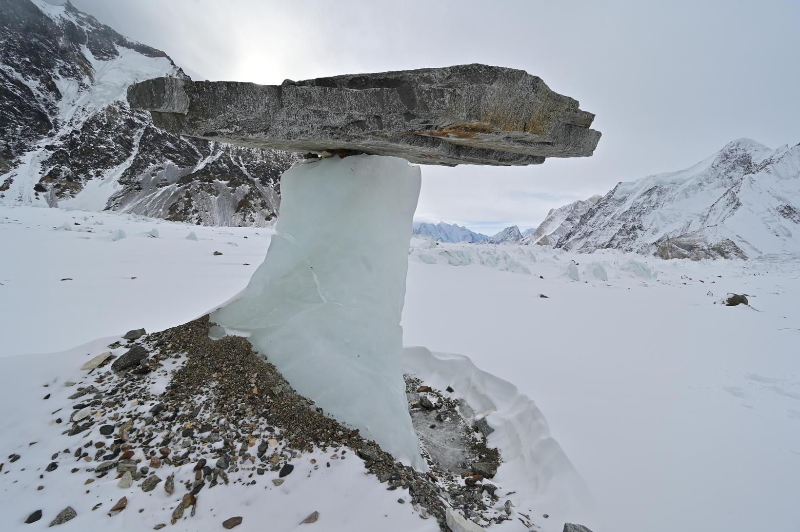 Náttúruöflin við K2 bregða á leik.