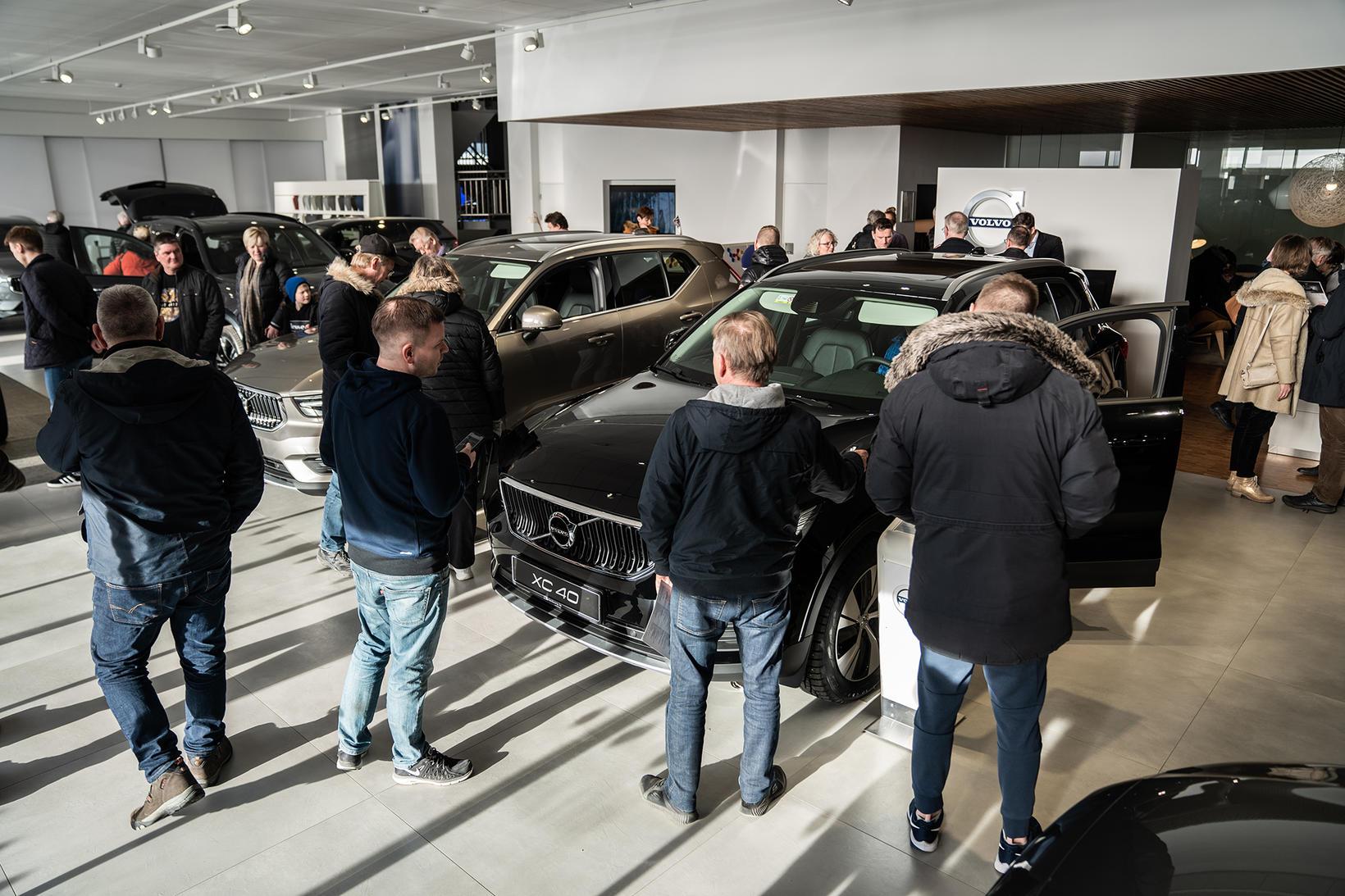 Volvo XC40 Recharge tengiltvinnbíllinn