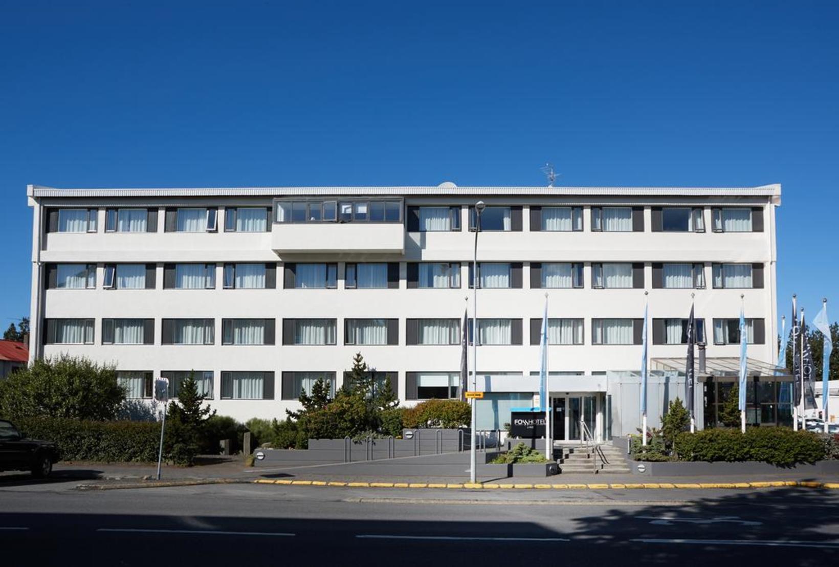 The quarantine facility on Rauðarárstígur, Reykjavík.
