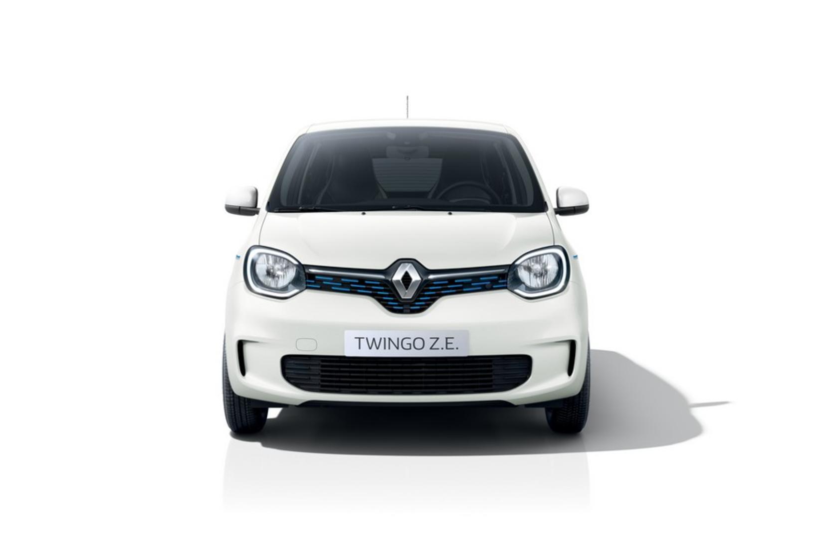 Rafbíllinn Renault Twingo Z.E.