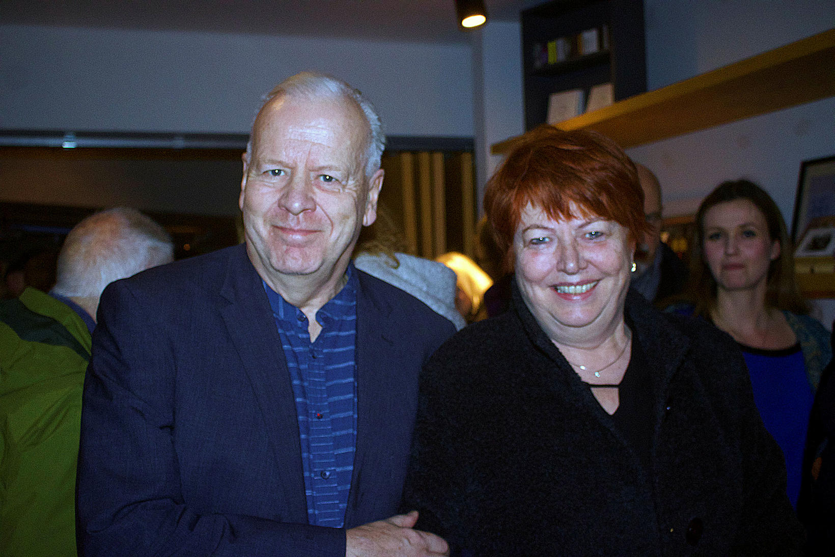 Óttar Guðmundsson og Jóhanna Þórhallsdóttir.