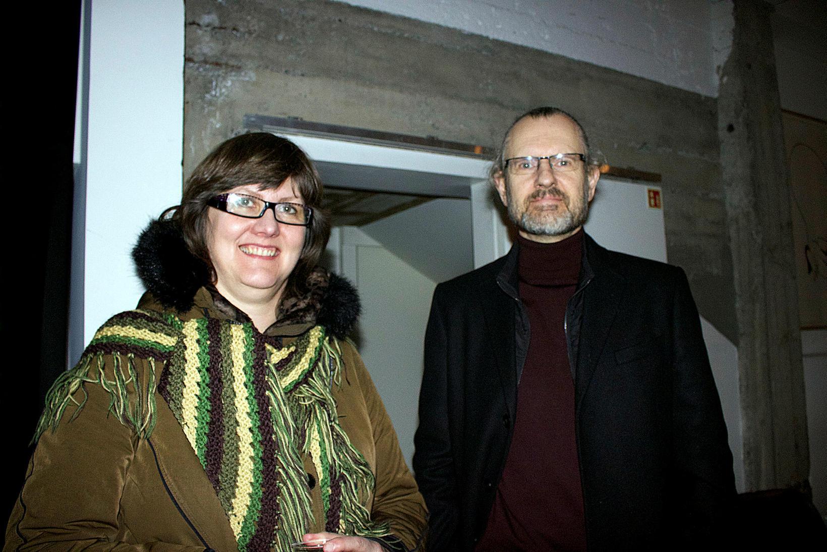 Kristín Mjöll Jakobsdóttir og Sigurður Halldórsson.