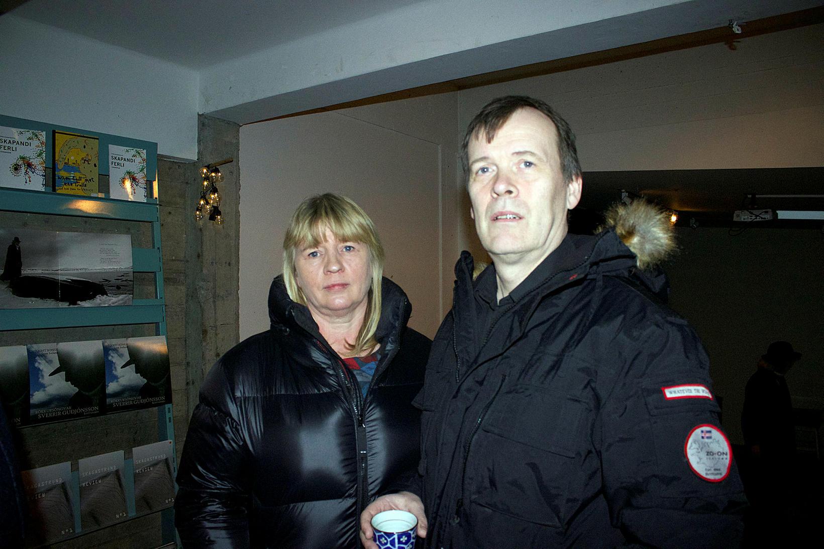Guðrún Halldóra og Sveinn Kjartansson.