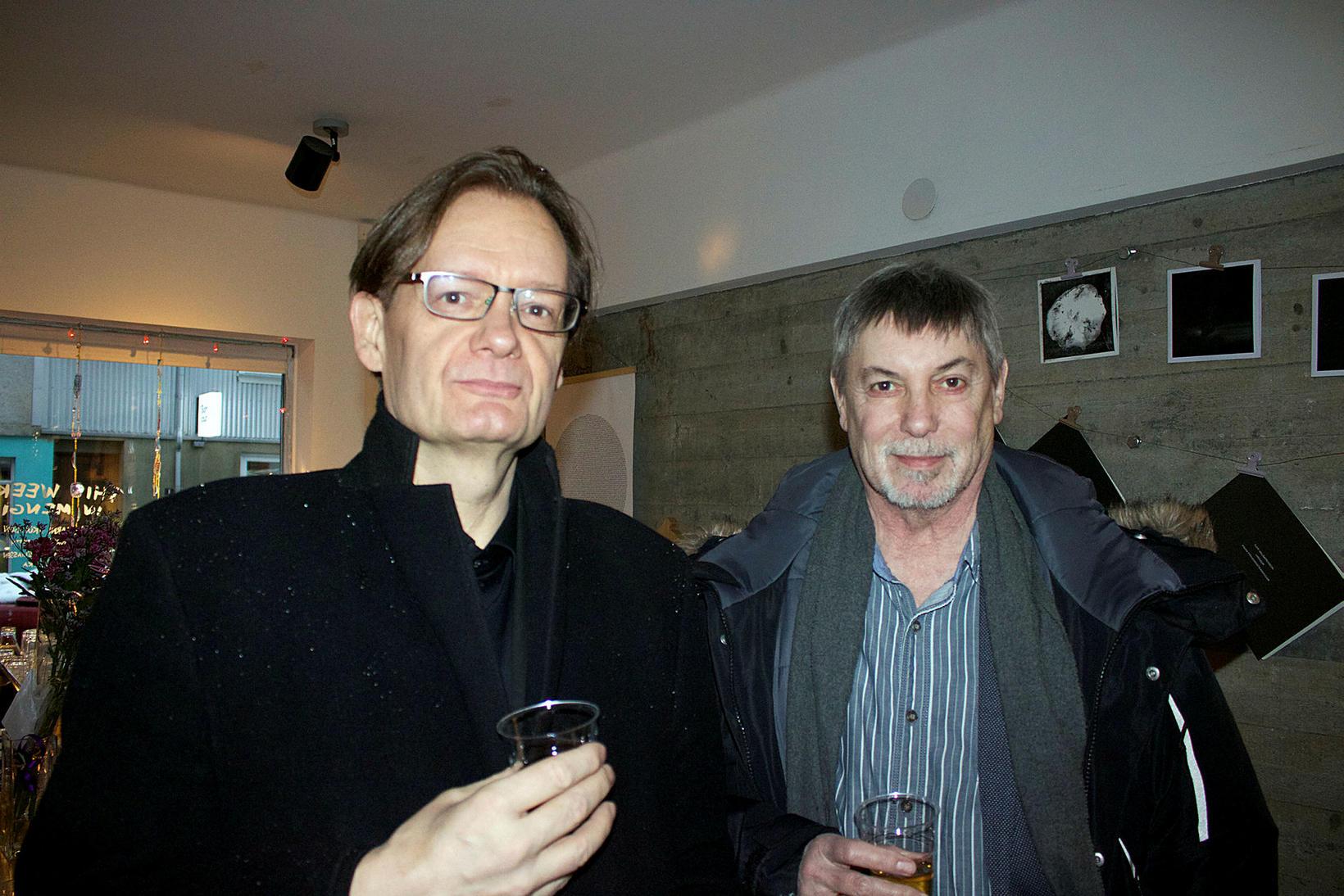 Þorsteinn Gauti og Oliver Kentish.