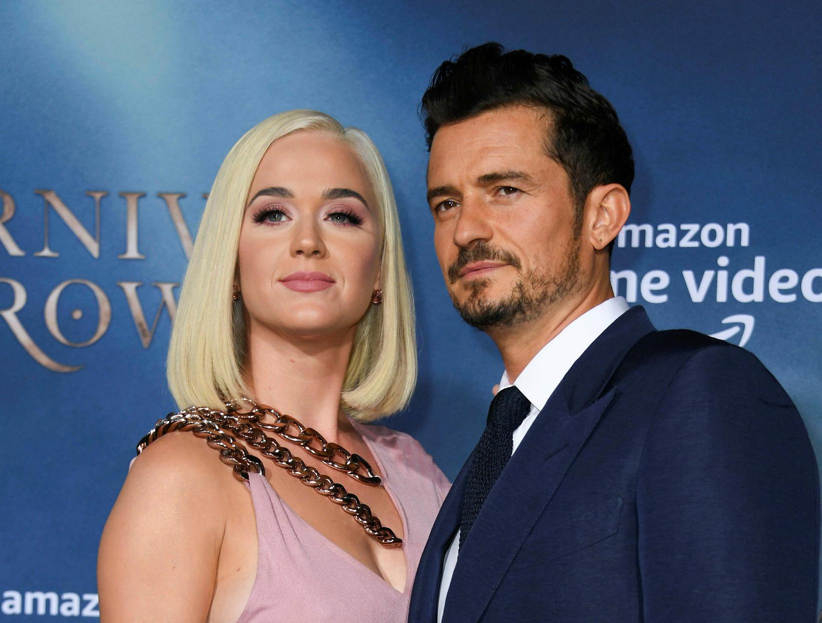 Katy Perry og Orlando Bloom fluttu til Montecito í haust.