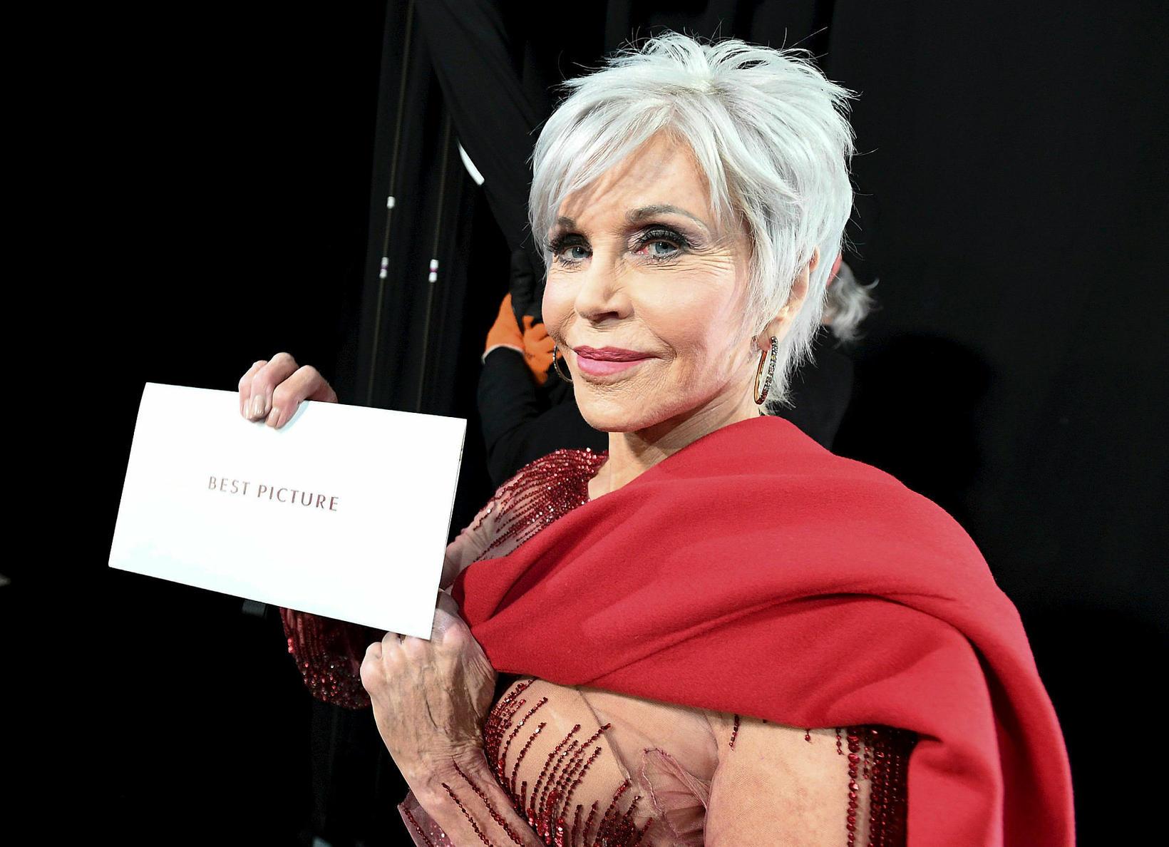 Jane Fonda á Óskarnum 2020.